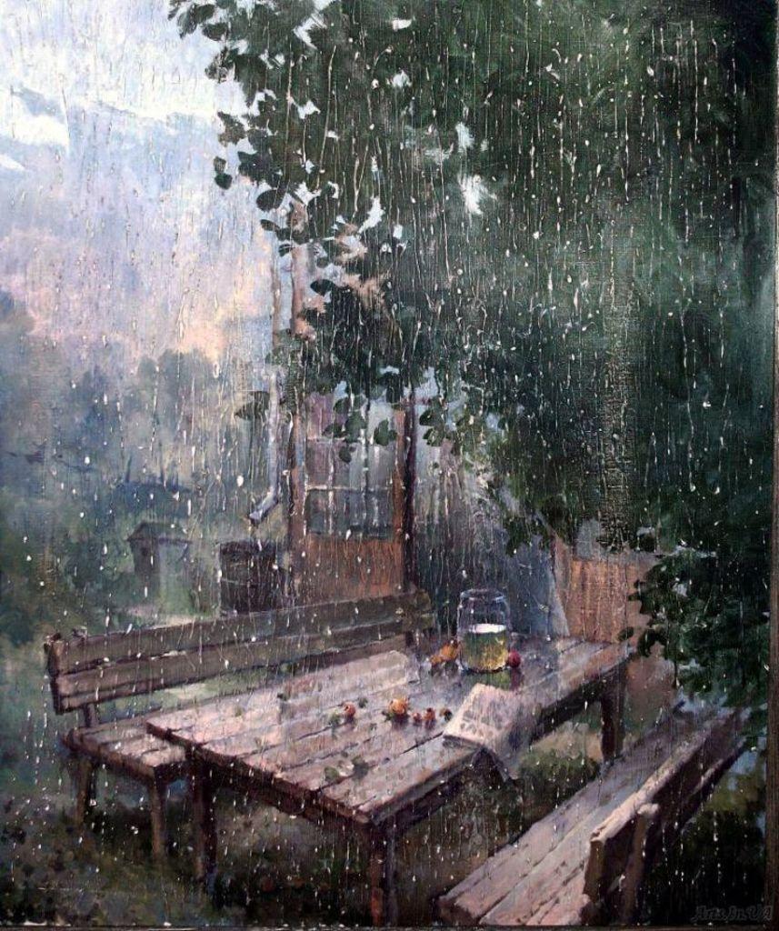 яичника приводит я помню сад и дождь картинки поздравления любимой