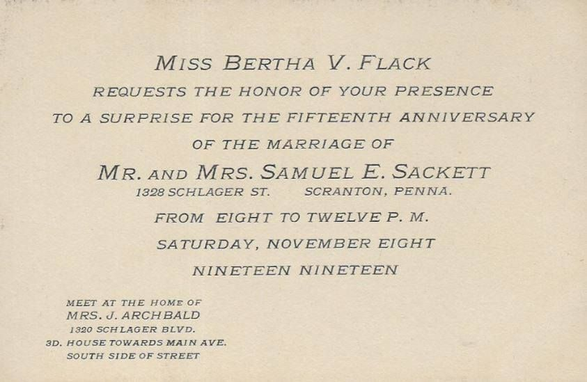 This is a Invitation for a Surprise 15th Wedding Anniversary Party ...
