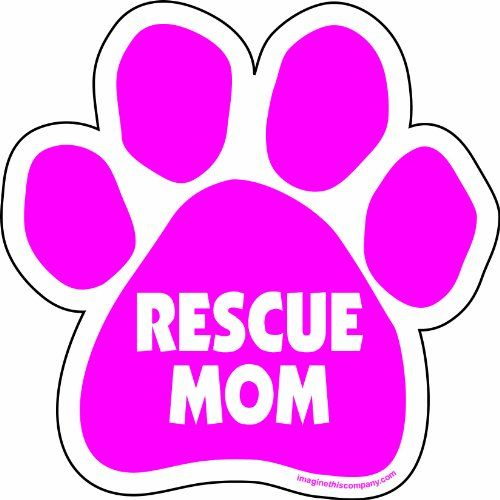 Picture PawsDog Paw Shaped Magnets I LOVE MY BULLDOGCar Magnet