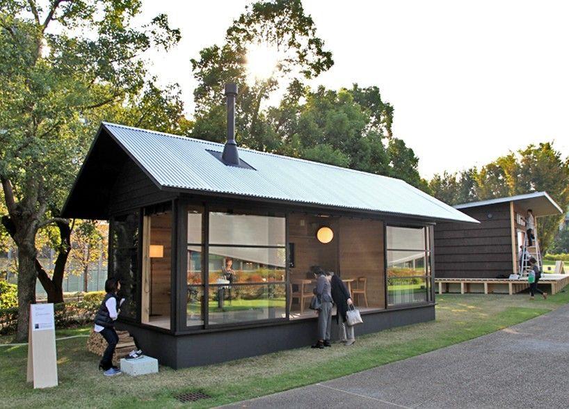 aj weekend cabin muji wooden hut Mail