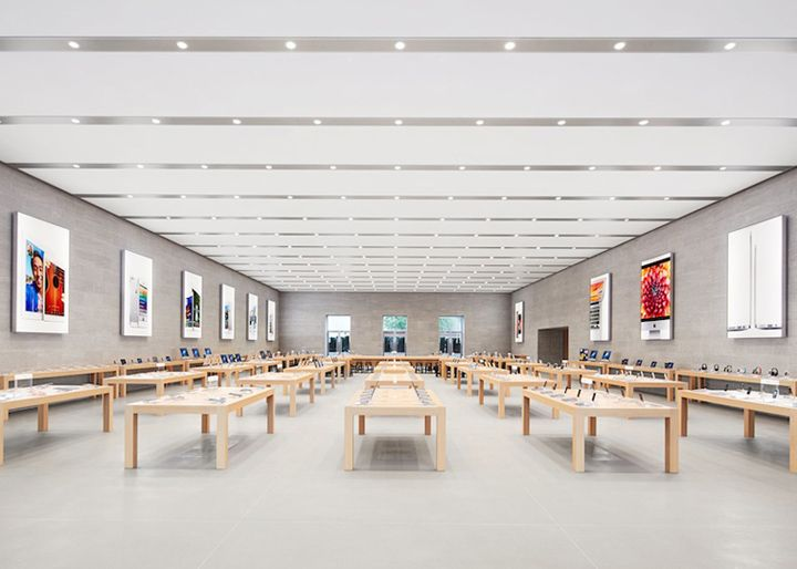 Apple Flagship Store Berlin Apple Flagship Store, Berlin #Uniformity #Retail
