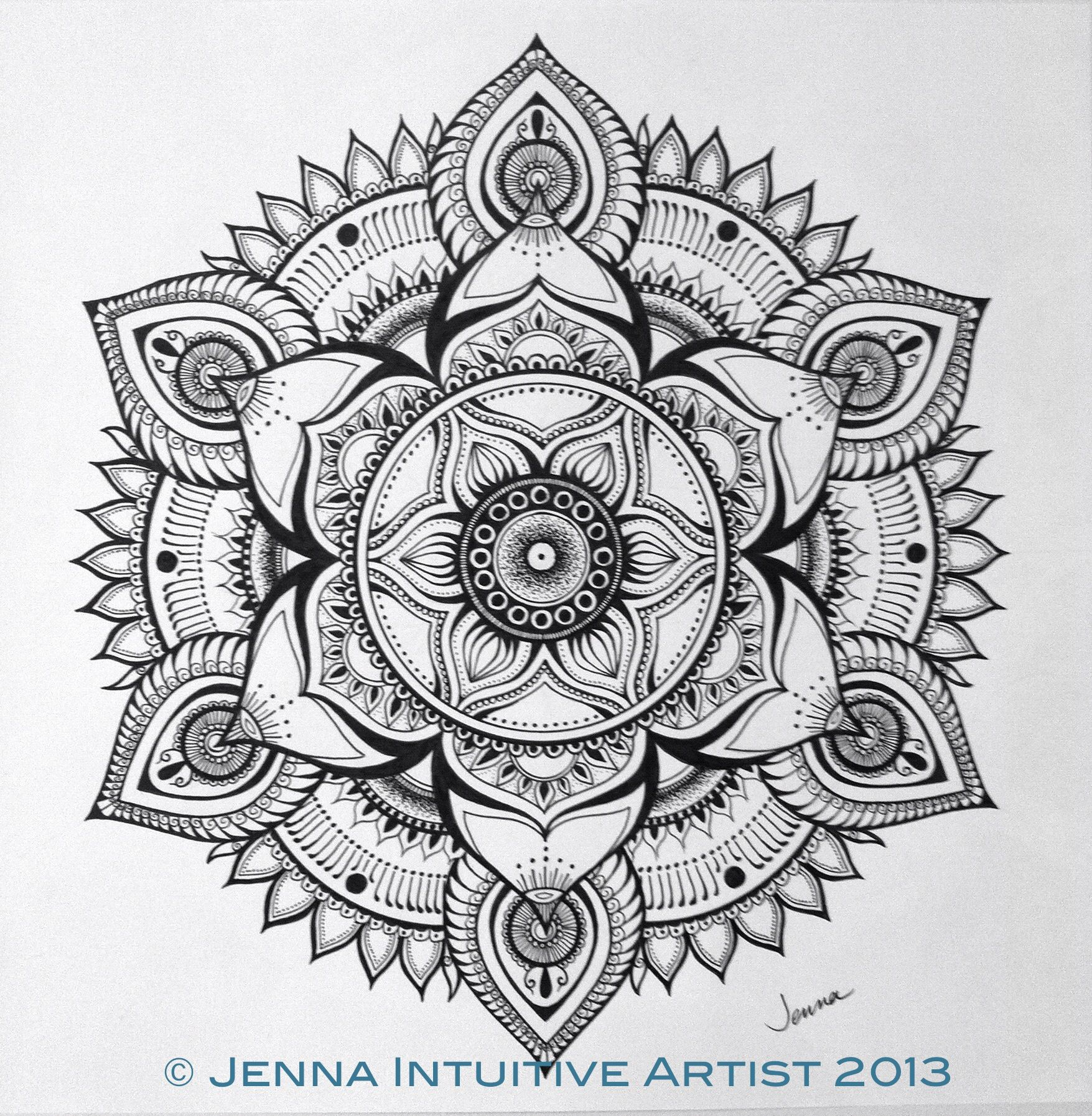 Jenna | Intuitive Artist - AMAZING detailed work... So inspired by ...
