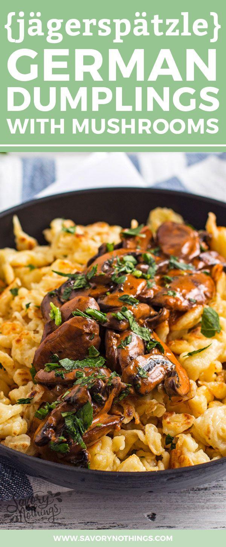 Rustic German Potato Noodles