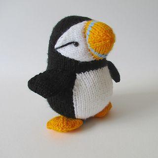 Huffin' Puffin pattern by Amanda Berry | Knitting patterns ...