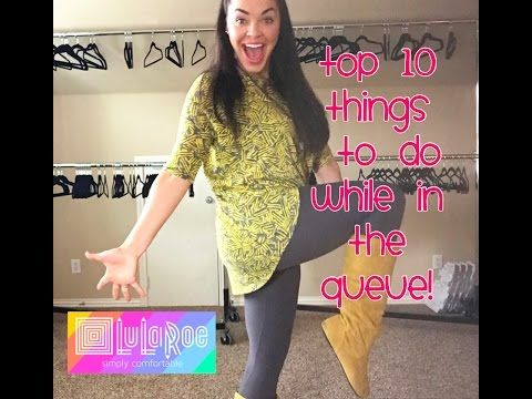 ae4562923819 Top 10 things to do while in the LuLaRoe Queue | LuLaRoe Brooklyn Rivera -  YouTube
