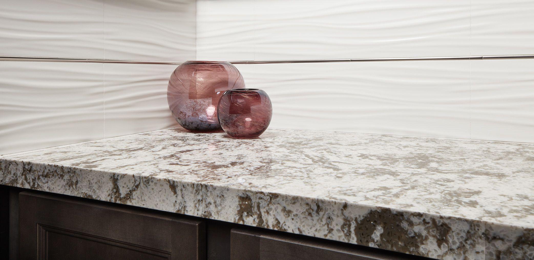 Anchorage Quartz Is Inspired By Our Alaska Granite Slab. This Quartz Has  Beautiful Coloring,