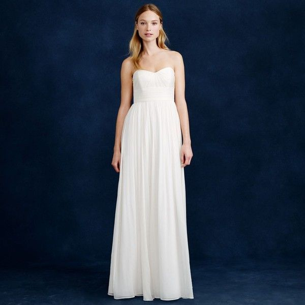 J.Crew Marbella gown ($430) ❤ liked on Polyvore featuring dresses ...