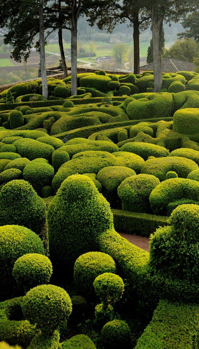 Jardin D Exception #9: Le Manoir Du0027Eyrignac, Jardin Du0027exception