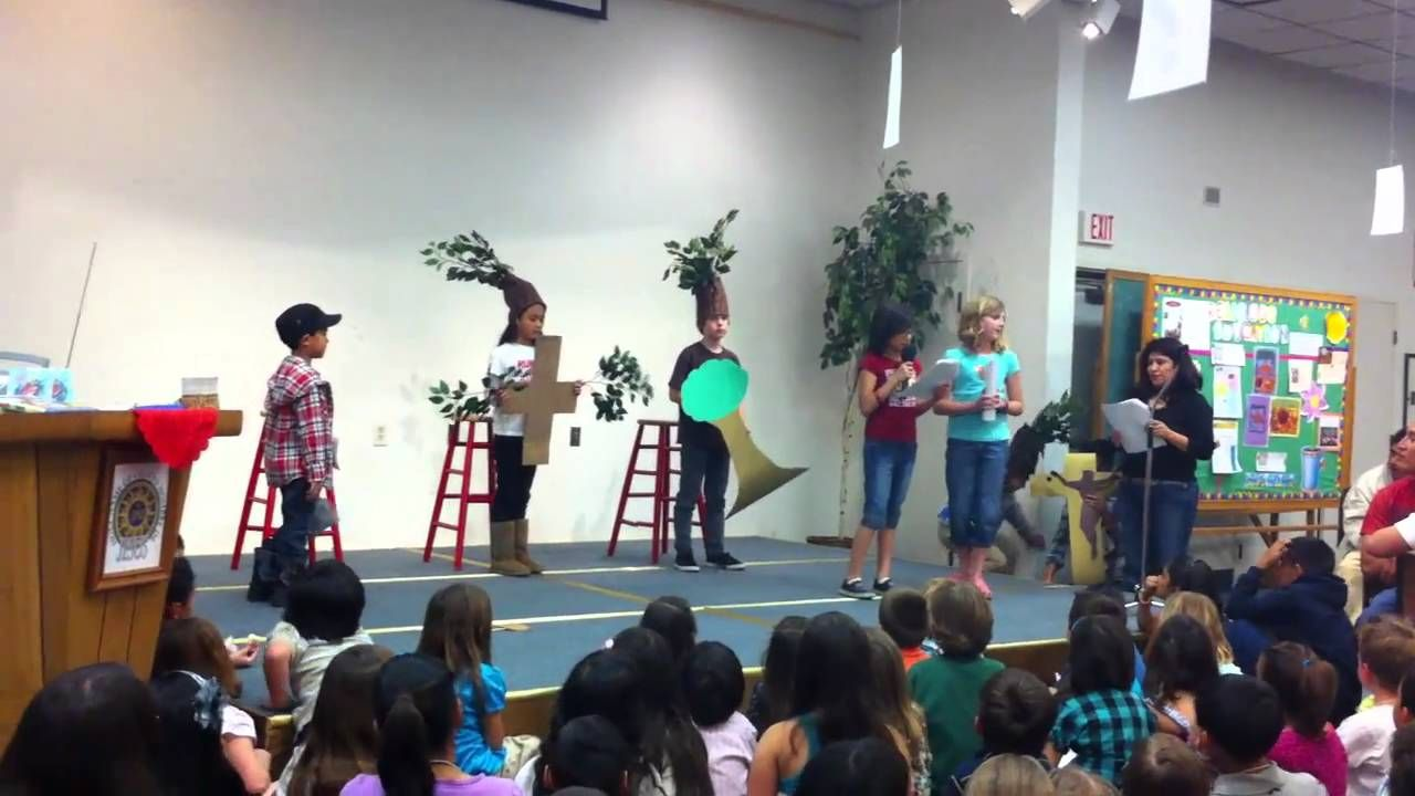 The Tale Of The Three Trees Play Tree Story Christmas Program