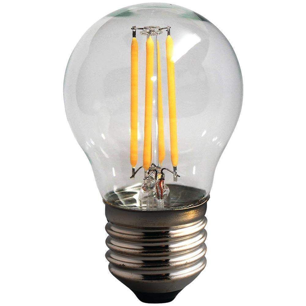 Hallway lighting no outlet  Watt Dimmable LED Filament Globe Light Bulb G  Products
