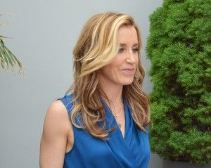 Met Felicity Huffman yesterday. What a nice person. And beautiful too.