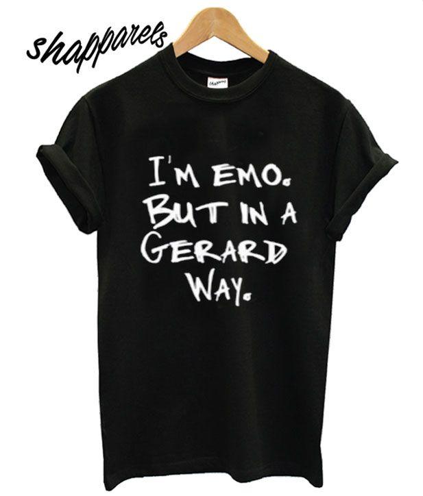 I'm emo T shirt