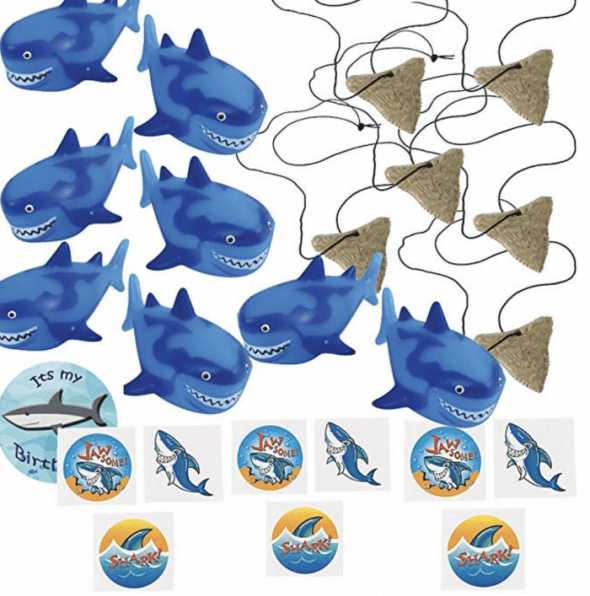 Shark Crafts And Shark Party Ideas Shark party favors
