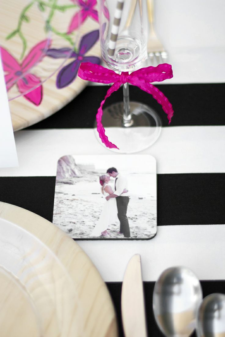 #coaster #drink #wedding #love #foto