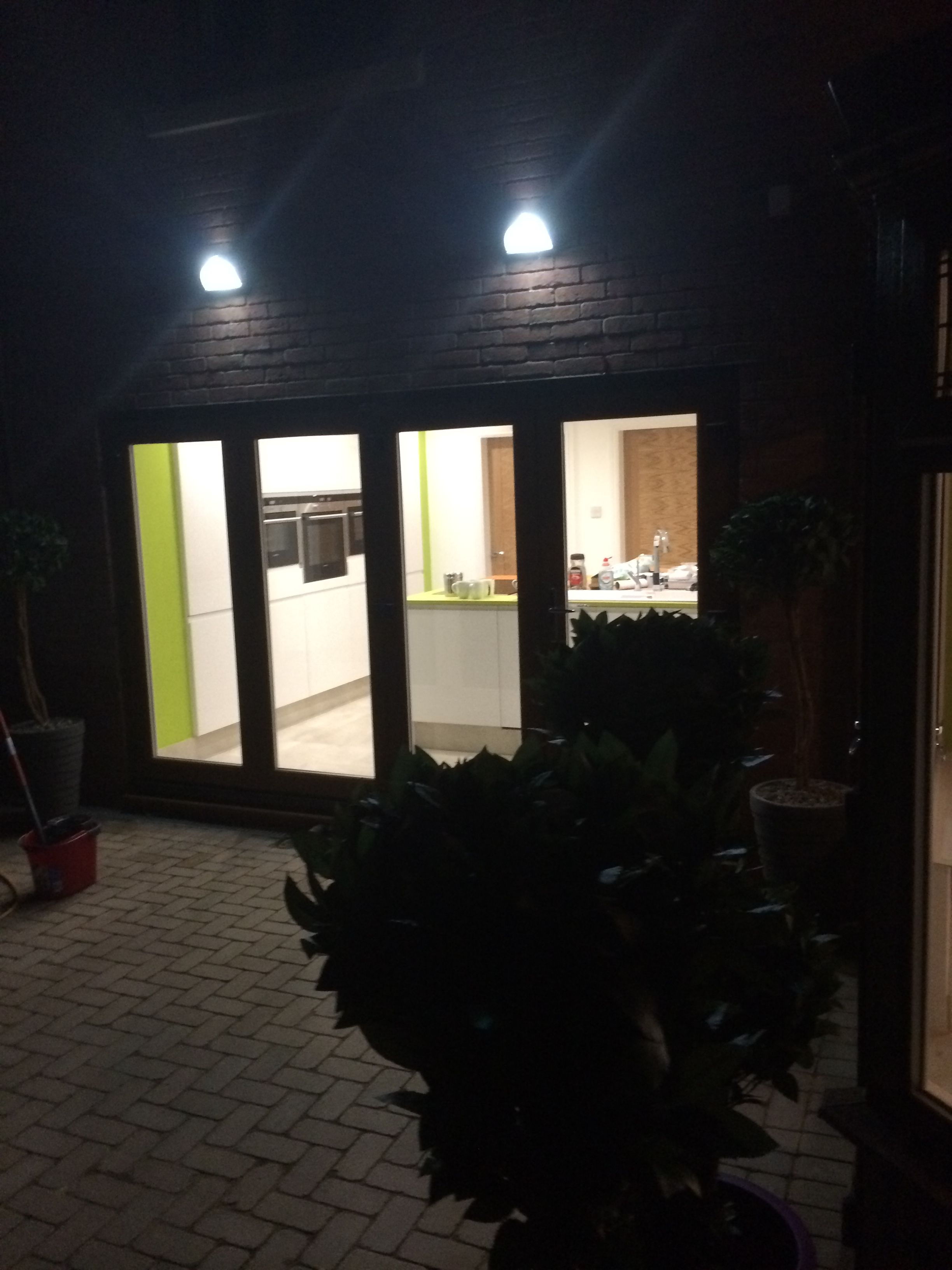 outside led lights fitted by http www homelifeservices co uk