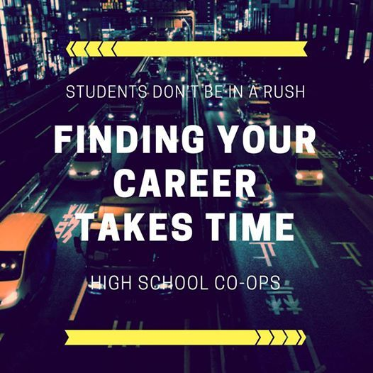 Students, don\u0027t be in a rush to find your perfect career it takes