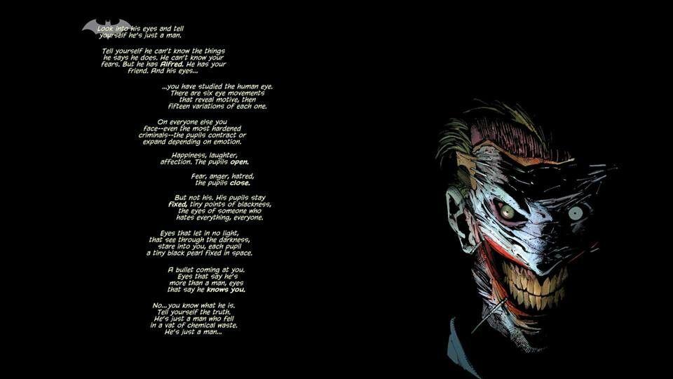 He S Just A Man Joker Quotes Joker Love Quotes Joker