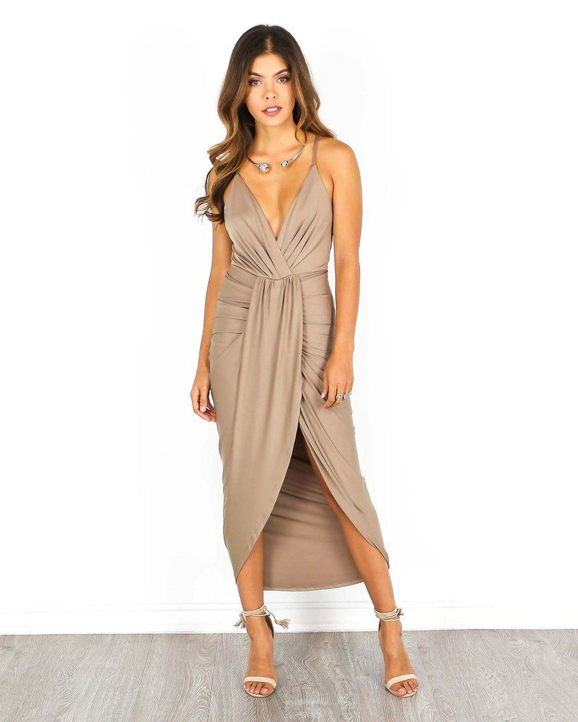 Lake Wood Dress - Mocha | dresses galore | Pinterest
