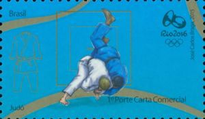 Sello: Judo (Brasil) (Olympics and Paralympics Games Third Serie) Mi:BR 4309,WAD:BR 115.15,RHM:BR C-3520