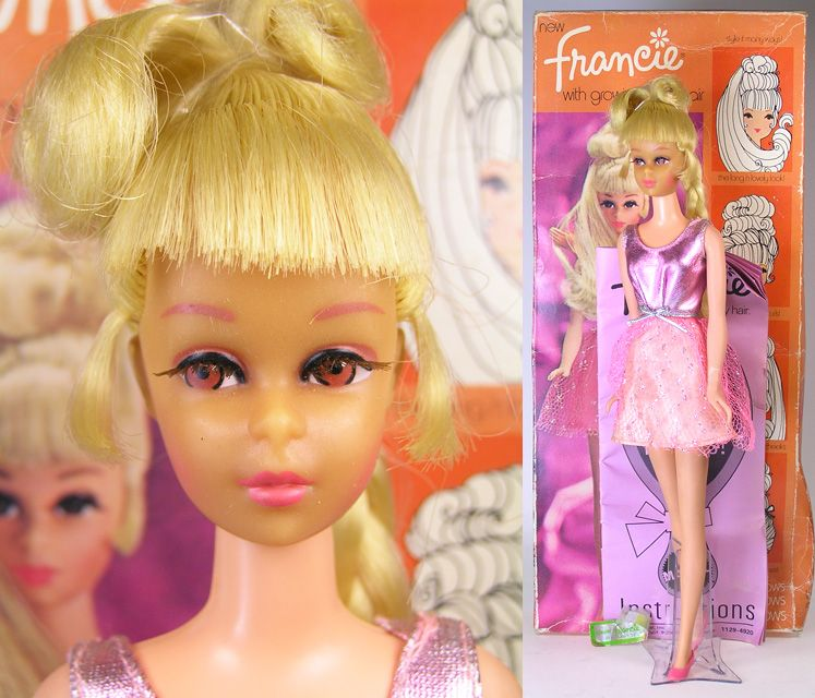 This was my doll: Francie with growing pretty hair