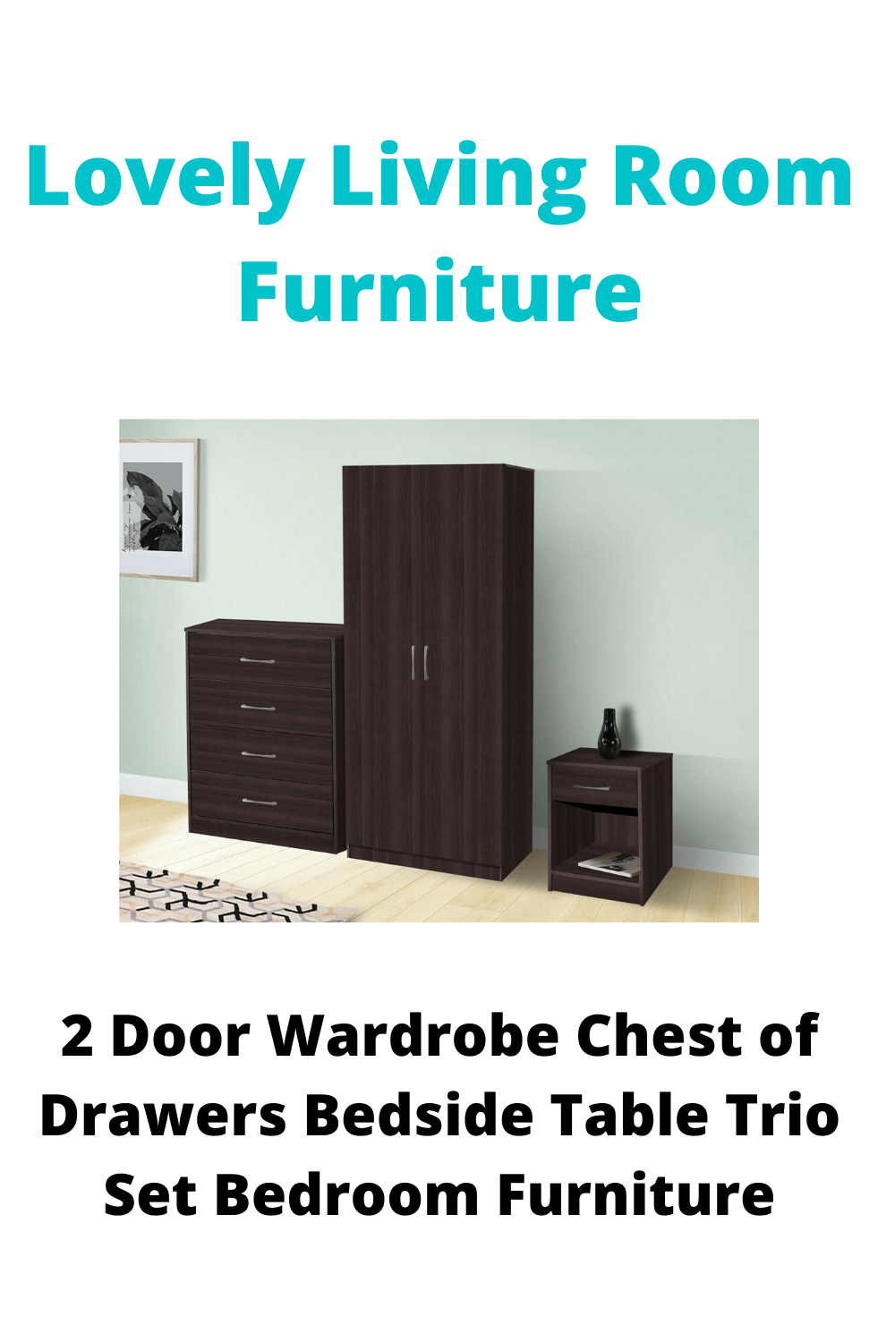Solid Construction, Various Colours, Fast and Free Delivery, MDF, Trio Set, Wardrobe Included, Chest of Drawers Included, Bedside Table Included, Flat Pack#furniture #furnituredesign #furniturejepara #furniturejakarta #furnituremurah #furniturebandung #furnituresurabaya #furniturebali #furnitureonline #furnitureindonesia #furnitureminimalis #furnituremaker #FURNITUREMEWAH #furniturestore #furnitures #furnituremedan #furnituremodern #furniturecafe #furniturevintage #furnituredesing #furnituremal