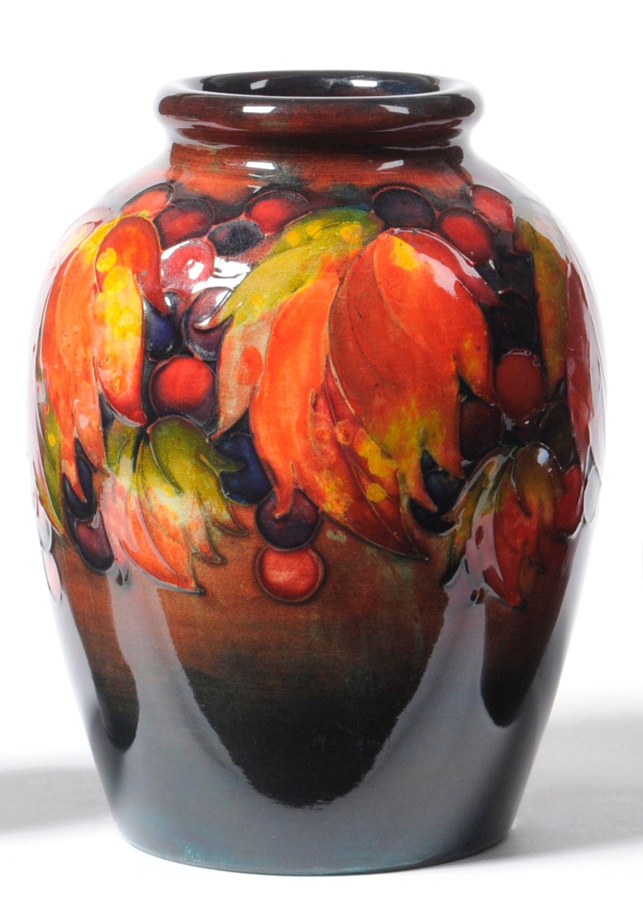 Tennants auctioneers a william moorcroft leaf and berry flambe tennants auctioneers a william moorcroft leaf and berry flambe vase reviewsmspy