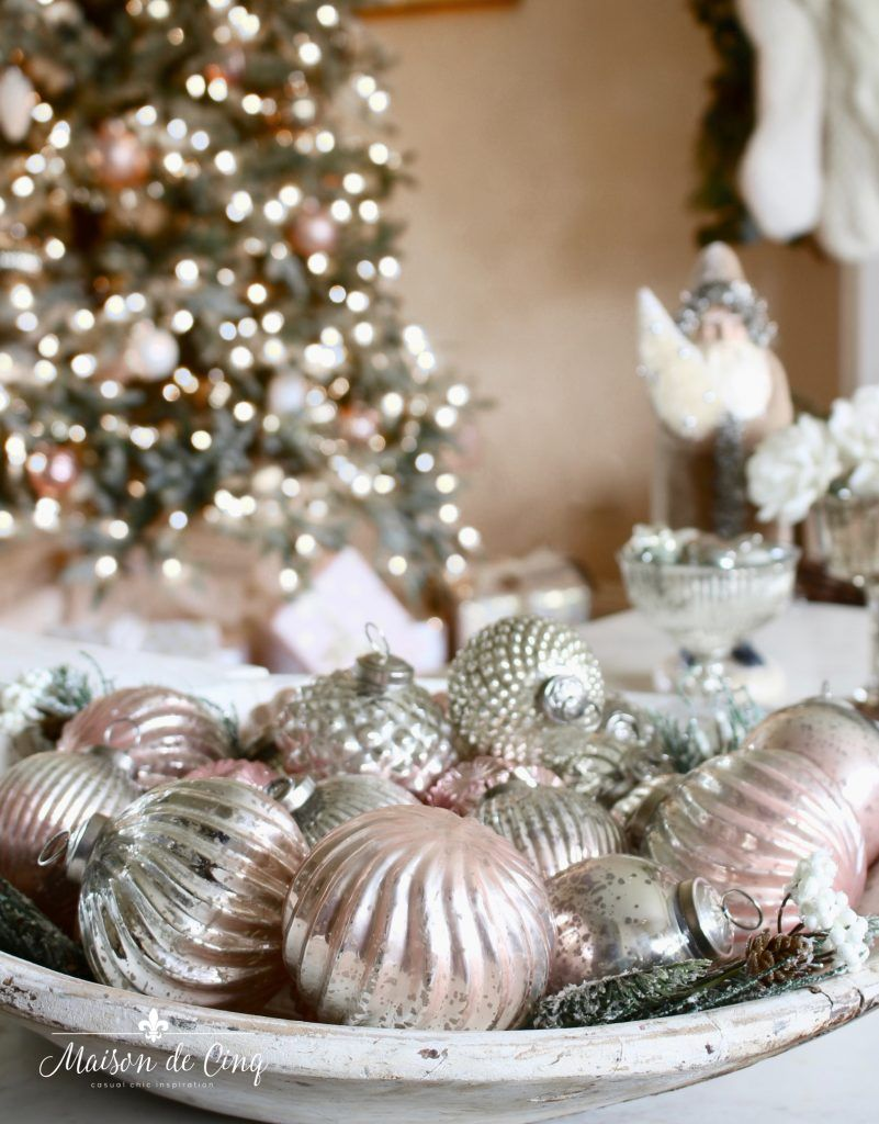 French Inspired Romantic Christmas Living Room Country Christmas Ornaments Romantic Christmas French Country Christmas