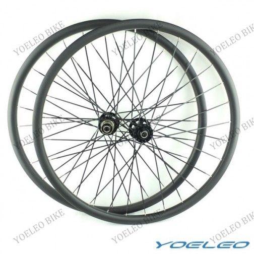 27 5 Mtb Carbon Wheels Clincher 23mm With Novatec Hubs D711sb