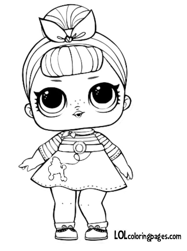 sisswing 646×869 pixels  coloring pages lol dolls
