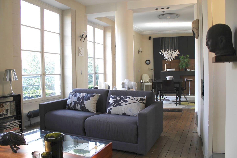 Le Marais - Architect Design apt - Bretagne street ...