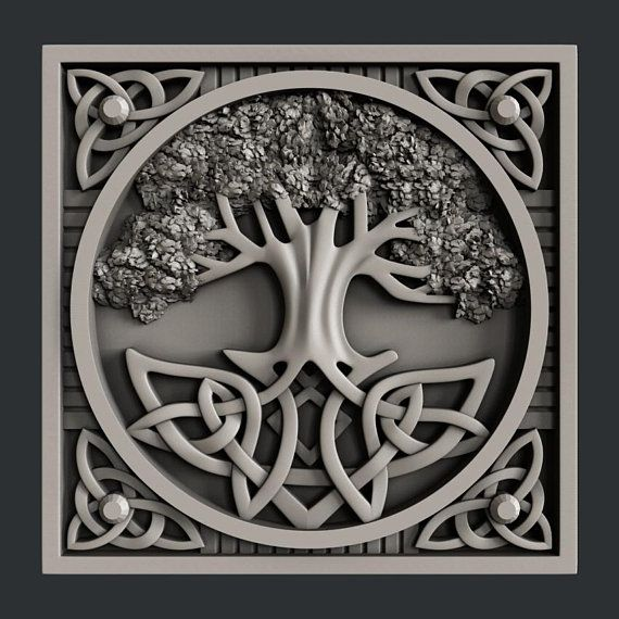 3d STL models for CNC tree Cnc router, Stl file format, Cnc