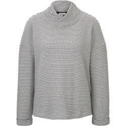 Photo of Gemustertes Sweatshirt für Damen von Tom Tailor, grau, einfarbig, Größe M Tom TailorTom Tailor