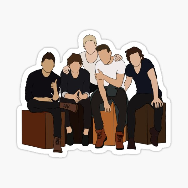 One Direction Stickers One Direction Drawings One Direction Art Cute Stickers