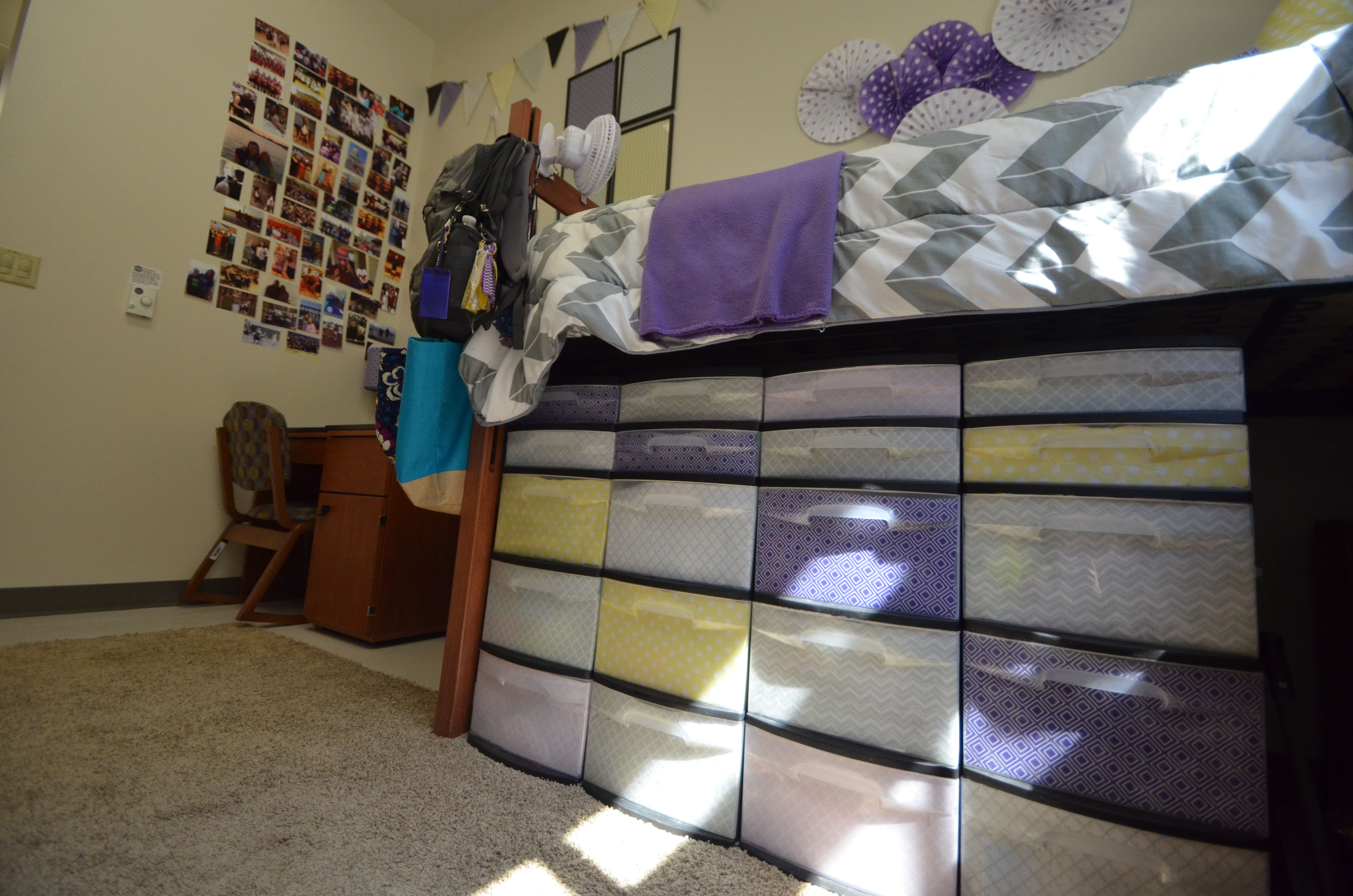 Don t for storage The beds in Cypress can be raised to fit