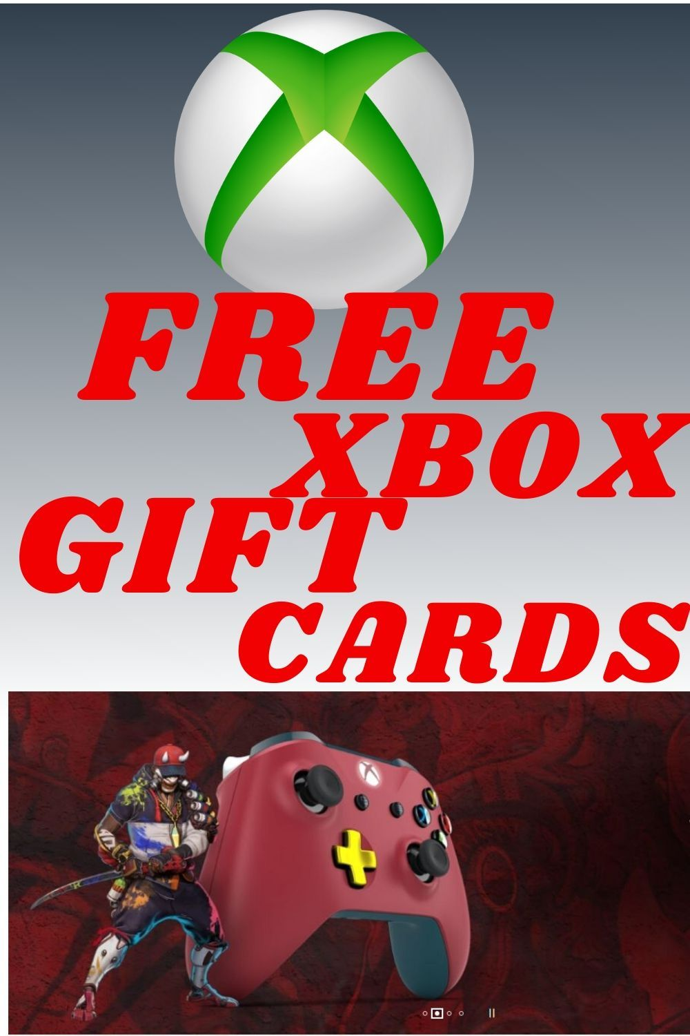 Free xbox gift cards free xbox codes 2020 in 2020 xbox