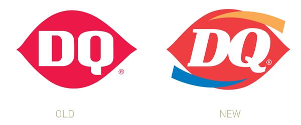 Lab Report Zoom Creates Blogs Logo Evolution Dairy Queen Logo Redesign