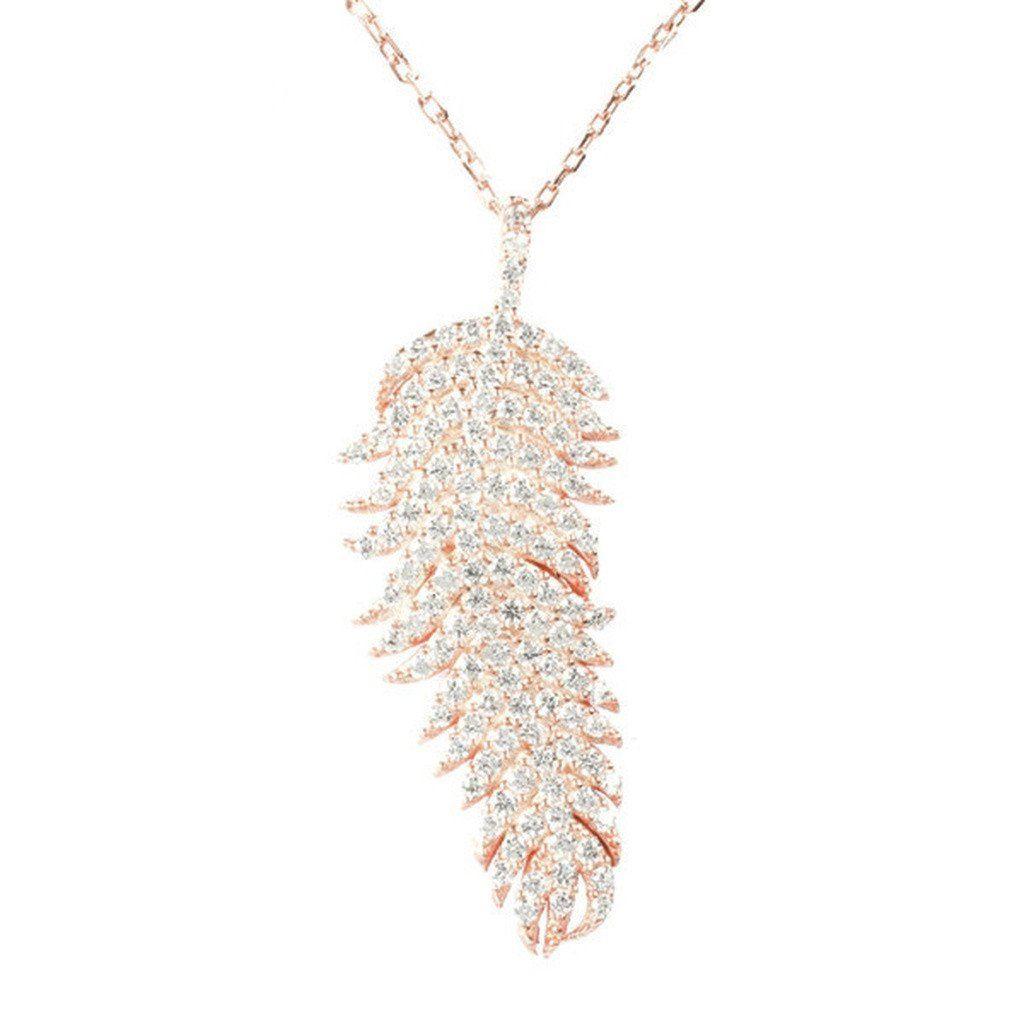 Large Feather Necklace Feather Necklaces Necklace