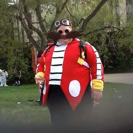 Brilliant Dr Eggman Cosplay Sonic The Hedgehog Costume Sonic Costume Comicon Cosplay