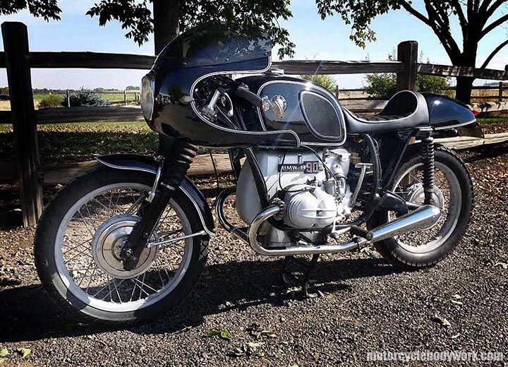 Airhead Subframe Cafe Racer