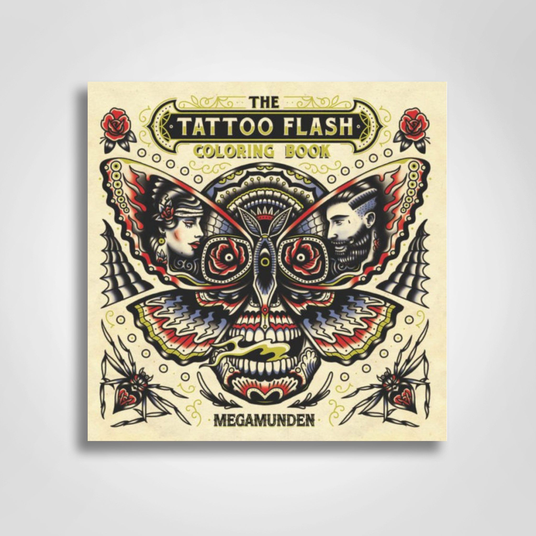 The Tattoo Flash Coloring Book Tattoo Coloring Book Coloring Books Flash Tattoo
