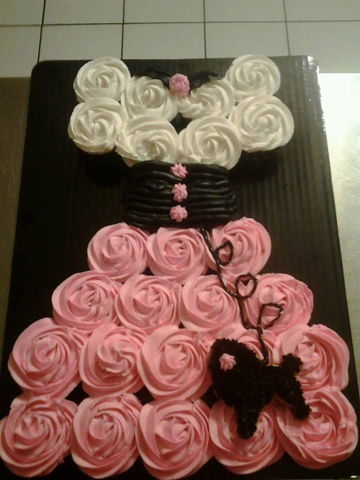 Poodle Skirt Cake Cupcake Cake Ideas Pinterest