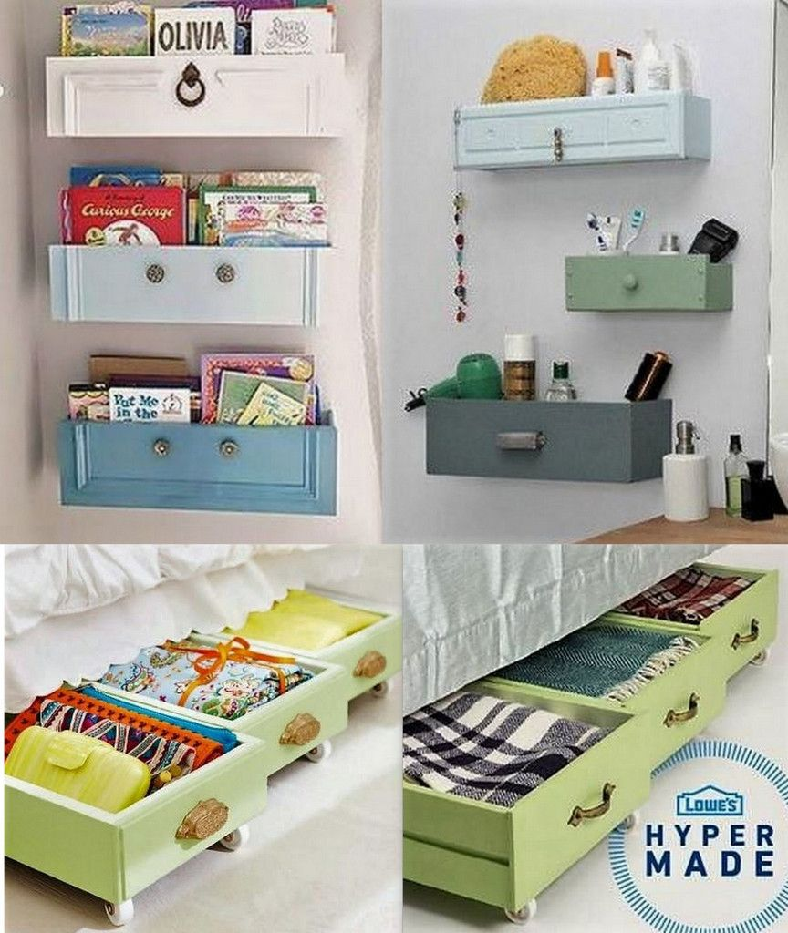 Aufbewahrungsboxen Aus Alten Schubladen Passen Prima Unters Bett