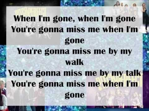 Pitch Perfect Cups You Re Gonna Miss Me When I M Gone Lyrics Lyrics Pitch Perfect Song Lyric Quotes