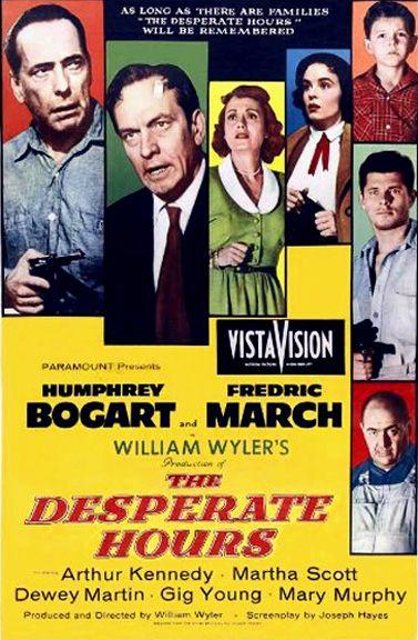 The Desperate Hours (1955) - Humphrey Bogart, Fredric March, Arthur Kennedy, Martha Scott