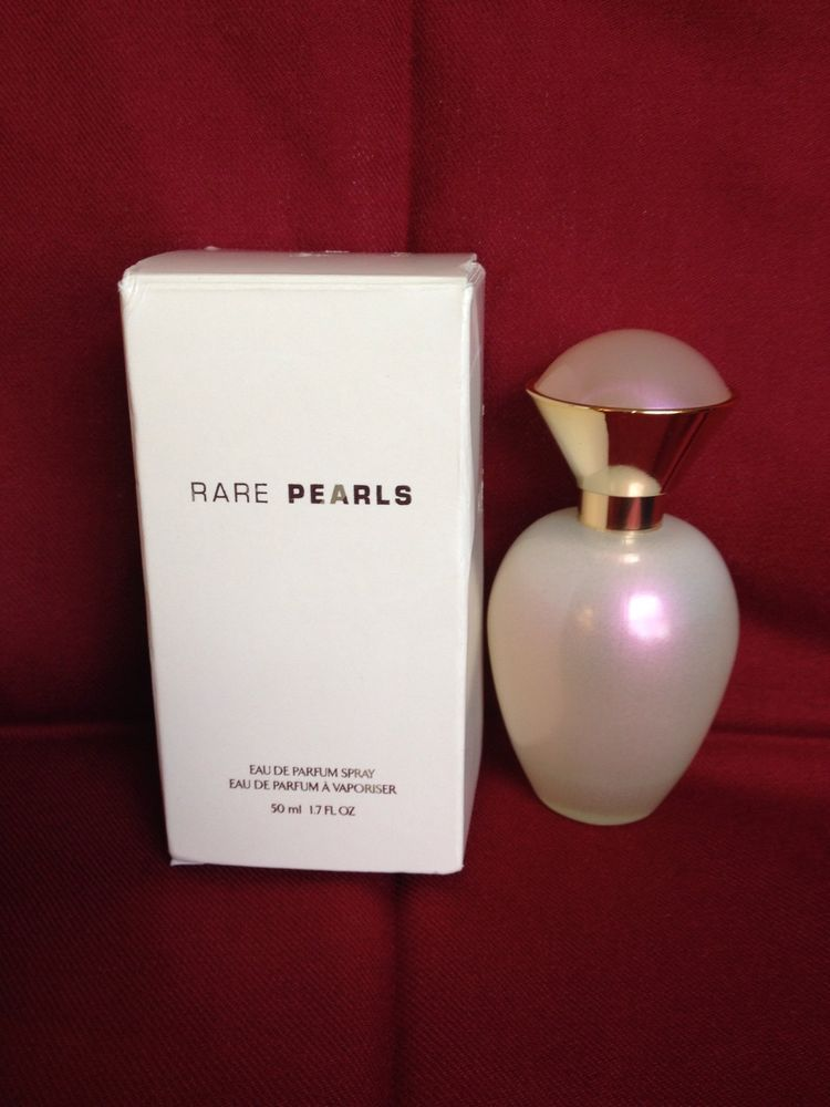 Avon Rare Pearls Womens Perfume 17 Fl Oz Rounded Bottle Nib Older
