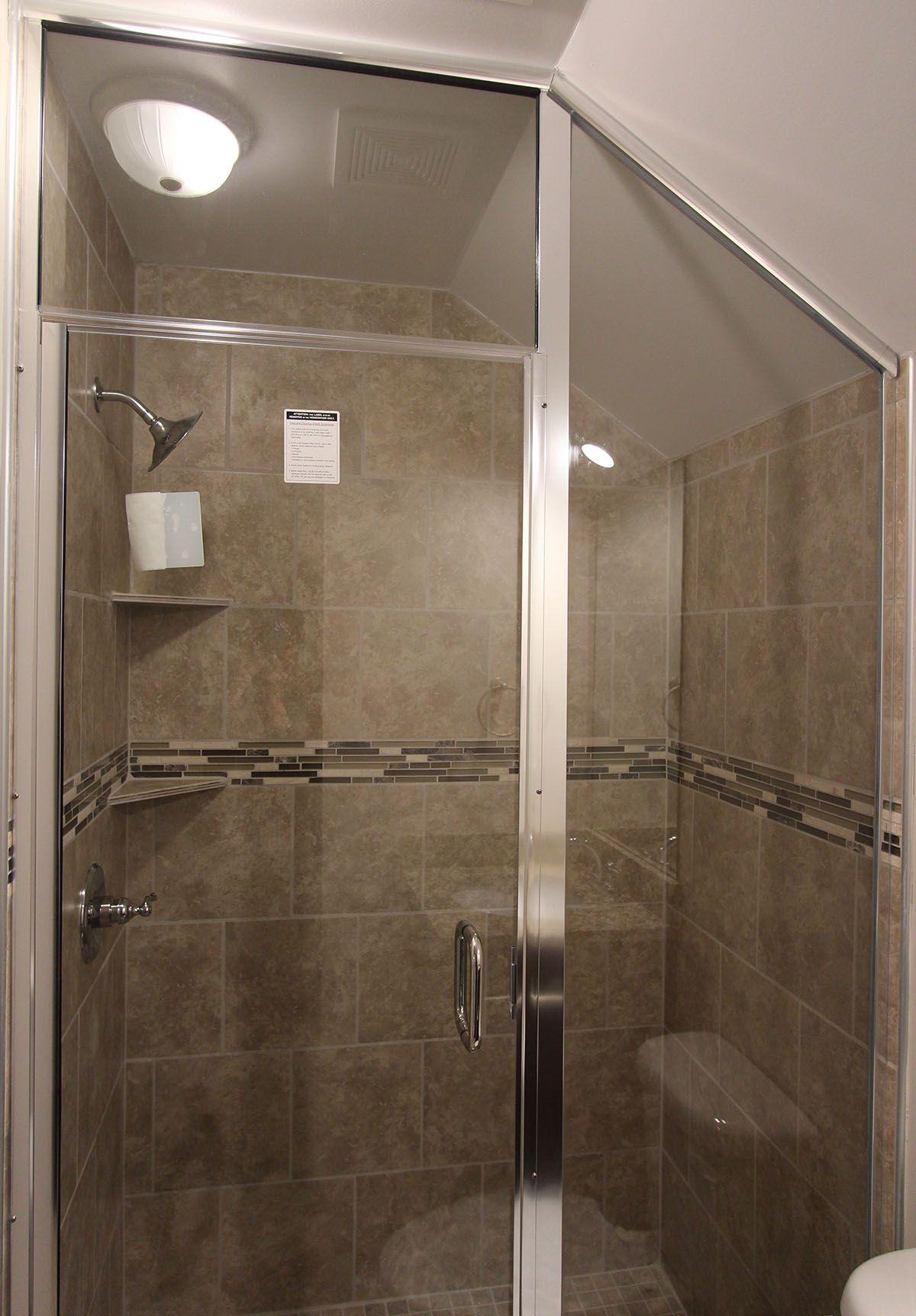 custom walkin shower  floor coverings flooring