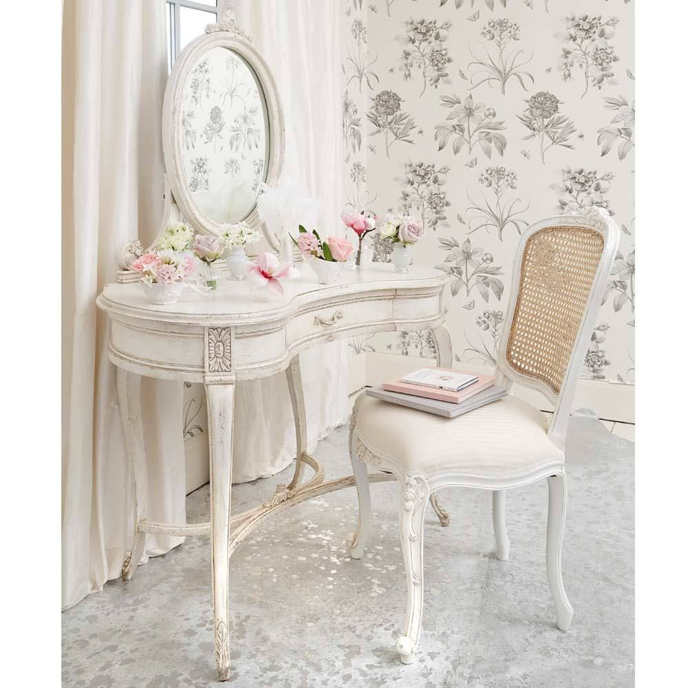 Delphine distressed shabby chic dressing table furniture redos in