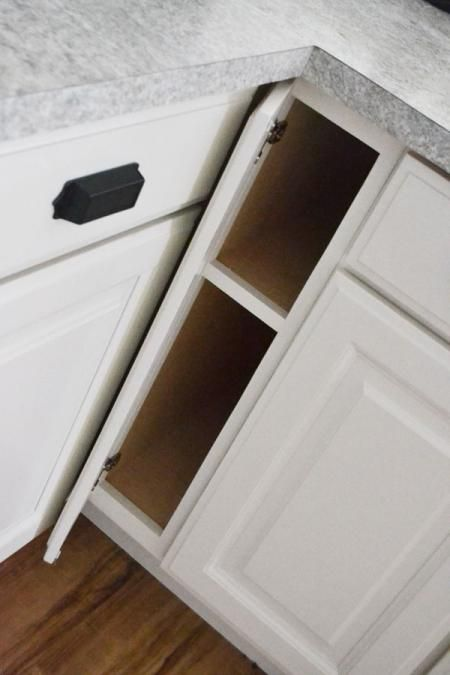 Tutorial On How To Easily Turn Dead Space Filler Into A Usable Cookie Sheet  Cabinet.