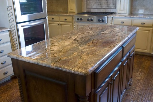 Crema Bordeaux Granite Countertop