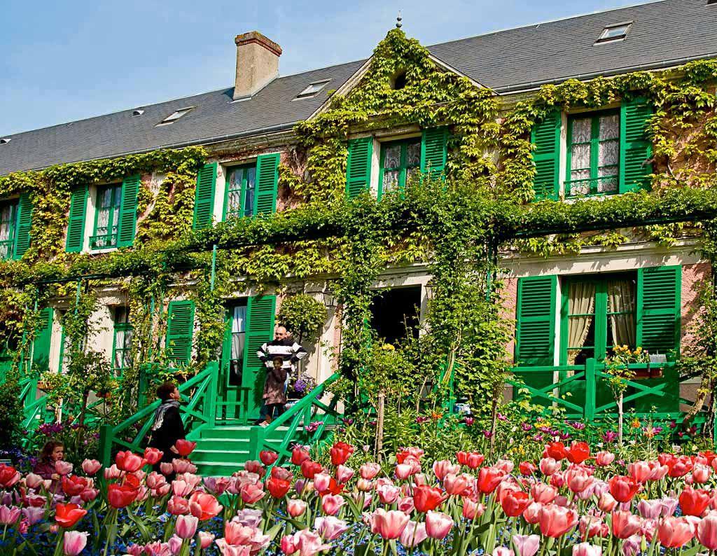 La maison et le jardin de Claude Monet à Giverny, ses fleurs ...